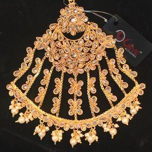 Jewelry - Oversized Indian PAKISTANI Bridal Hair Jhoomer